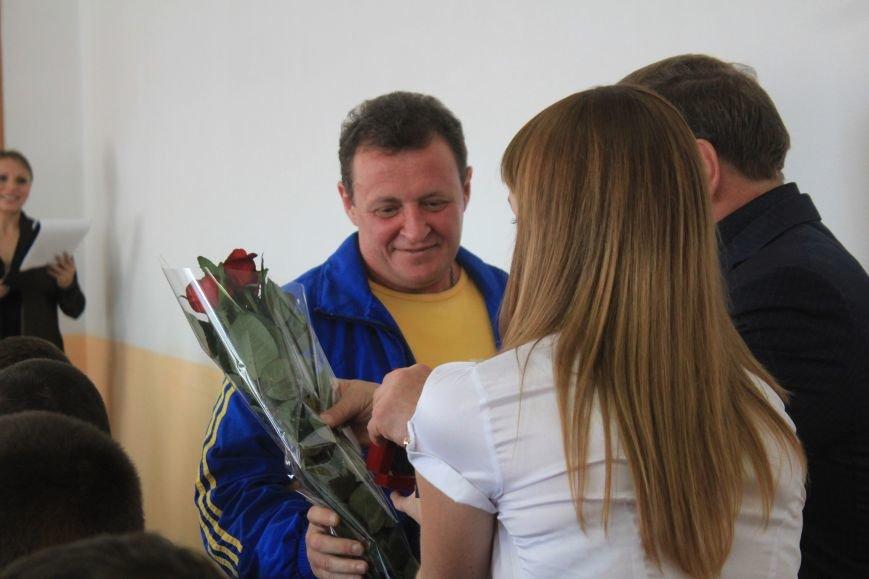 Днепродзержинских спортсменов поздравили с Днем физической культуры и спорта (фото) - фото 6