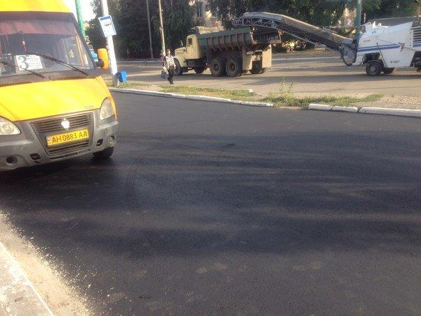 В Красноармейске продолжают ремонт дорог: работают в районе железнодорожного вокзала (фото) - фото 3