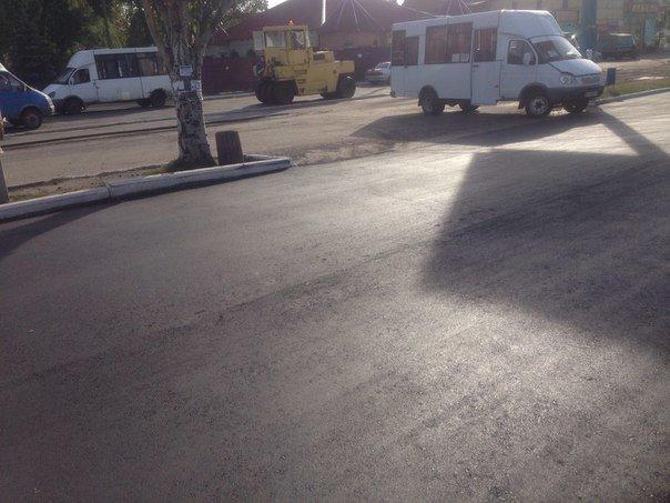 В Красноармейске продолжают ремонт дорог: работают в районе железнодорожного вокзала (фото) - фото 2