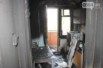 В Кривом Роге: на пожаре погибла старушка, дерево рухнуло на автомобиль, а бойцы 54 бригады показали, чем их кормят на фронте, фото-1