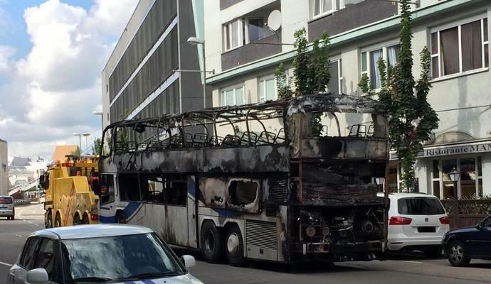 В Германии сгорел автобус, в котором ехала гродненская семья (фото) - фото 6