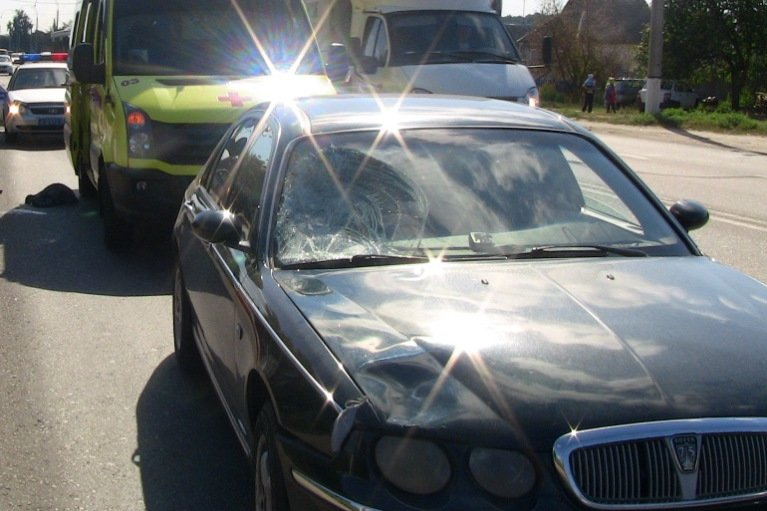 В Белгороде под колёсами автомобиля погиб внезапно выбежавший на дорогу пешеход (фото) - фото 1