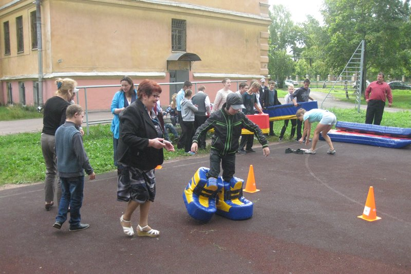 В празднике «Я выбираю спорт» приняли участие ребята их школы-интерната Пушкинского района, фото-1