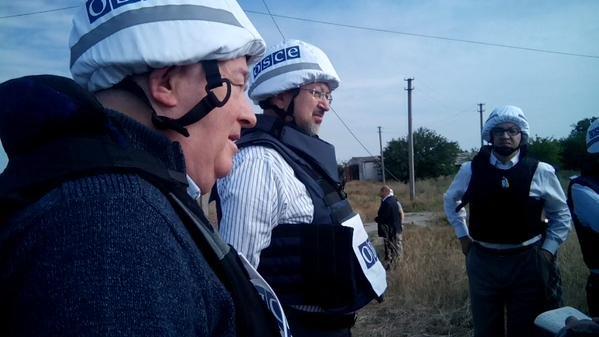 Генсек ОБСЕ посетили наблюдательный пункт в Широкино (ФОТО) (фото) - фото 1