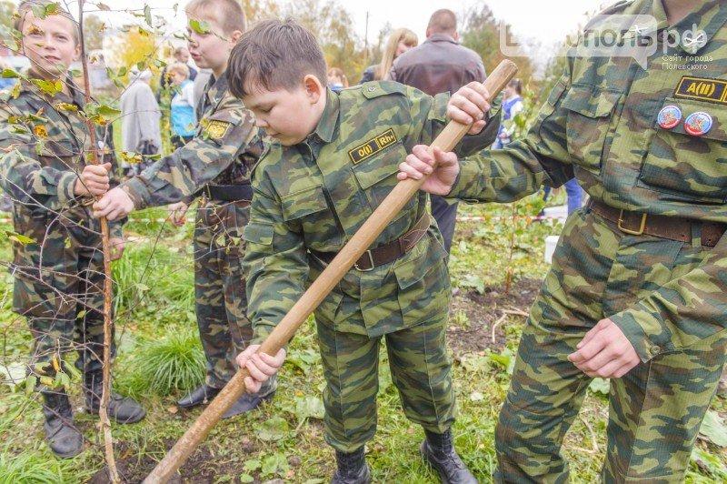 В южной части Полевского появился новый символ Победы. Фоторепортаж (фото) - фото 1