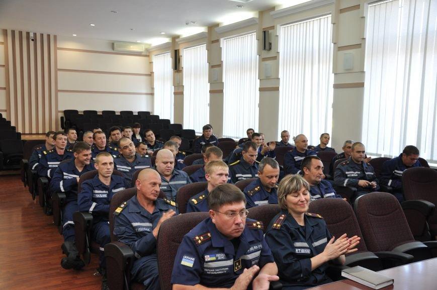 Спасатели донецкого гарнизона ГСЧС получили статус участников боевых действий, фото-2
