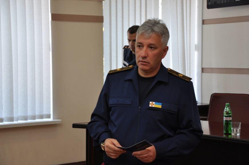 Спасатели донецкого гарнизона ГСЧС получили статус участников боевых действий, фото-1