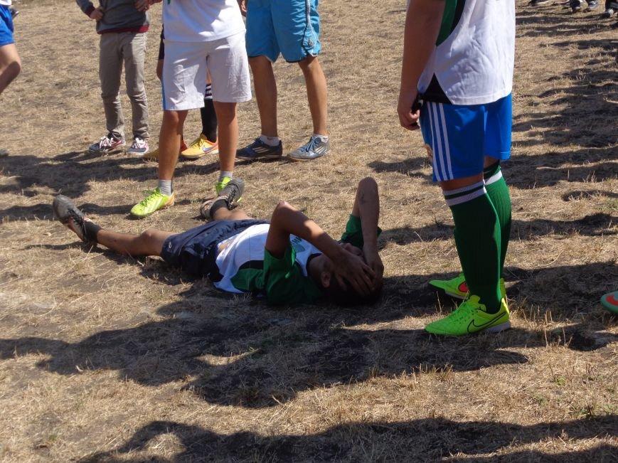 Футбольный дебют: полк «Днепр-1» впервые сыграл с учащимися ОШ №2 Красноармейска (фото) - фото 3