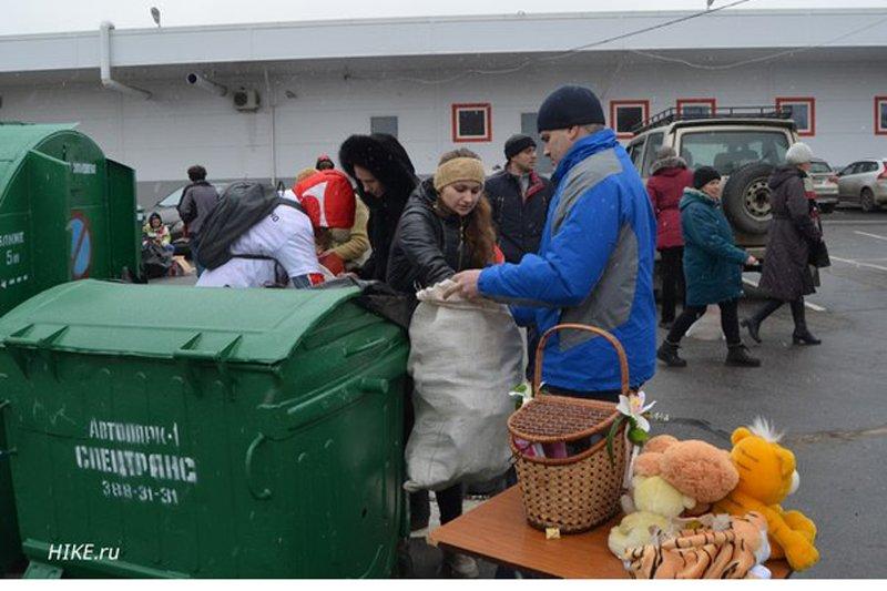 На ежемесячной акции «Раздельный сбор» в Пушкине было собрано более 20 куб. м. вторсырья (фото) - фото 2