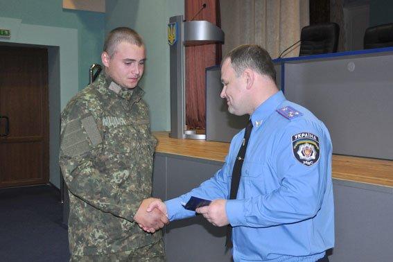 В Полтаві 152 працівника УМВС отримали посвідчення учасника бойових дій (фото) - фото 1
