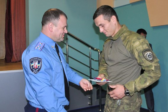 В Полтаві 152 працівника УМВС отримали посвідчення учасника бойових дій (фото) - фото 2
