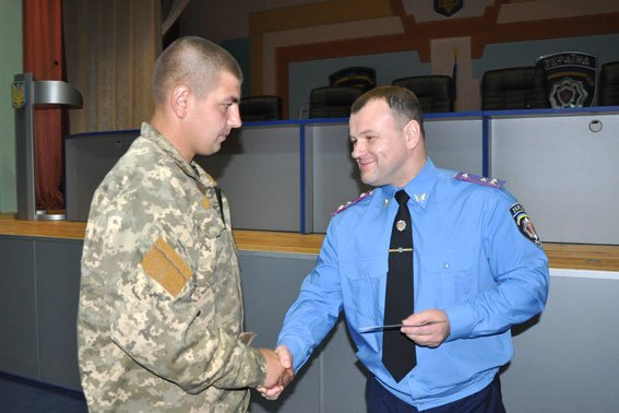 В Полтаві 152 працівника УМВС отримали посвідчення учасника бойових дій (фото) - фото 4