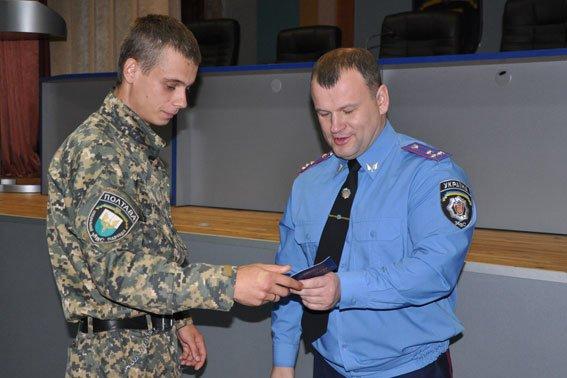 В Полтаві 152 працівника УМВС отримали посвідчення учасника бойових дій (фото) - фото 3