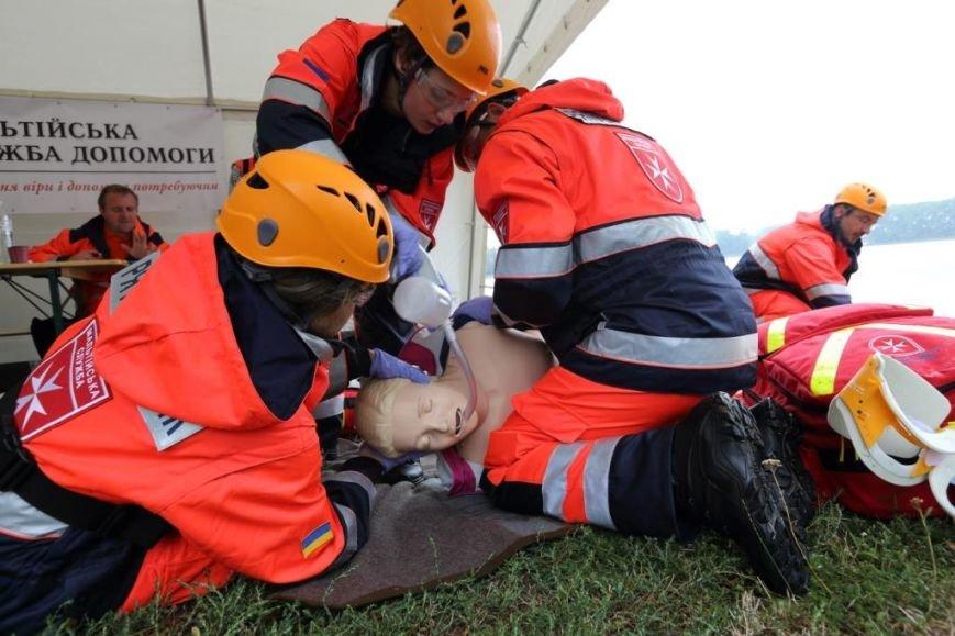 Як в Івано-Франківську кращих рятувальників визначали? Фоторепортаж (фото) - фото 1