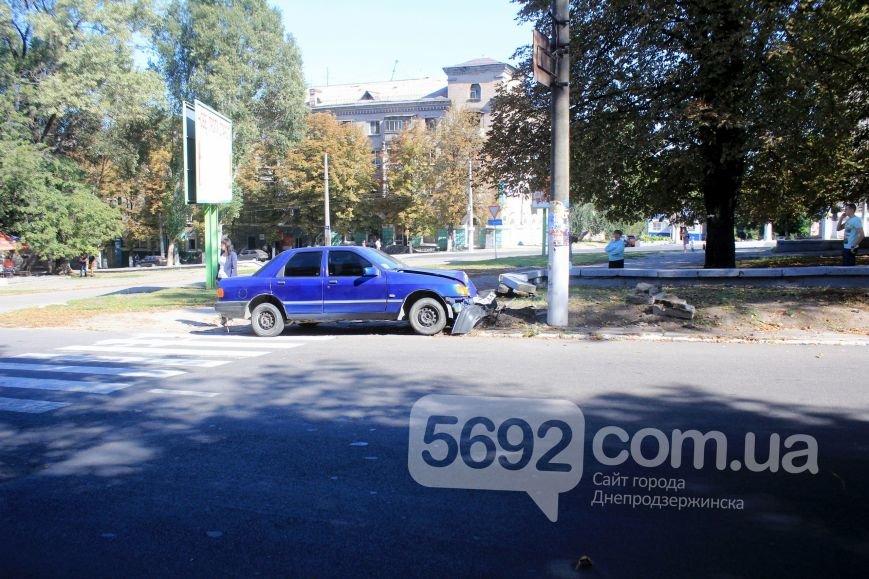 В Днепродзержинске произошло ДТП на проспекте Ленина, фото-1