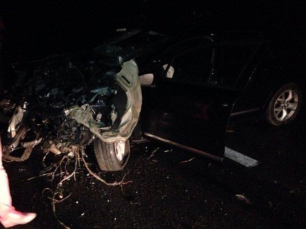 На трассе М6 автомобиль съехал в кювет, а когда начал выезжать - попал под грузовой микроавтобус (фото) - фото 3