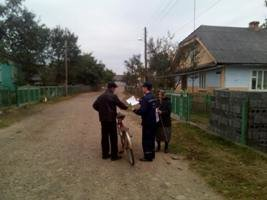Рятувальники навчають прикарпатців правилам безпеки (ФОТО) (фото) - фото 1