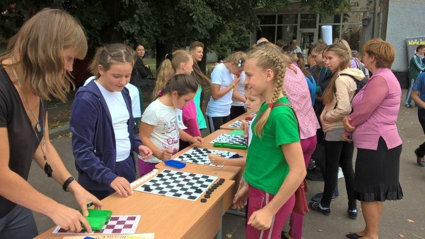 До Дня фізичної культури для хмельницьких школярів влаштували змагання в самому центрі міста (Фото), фото-2