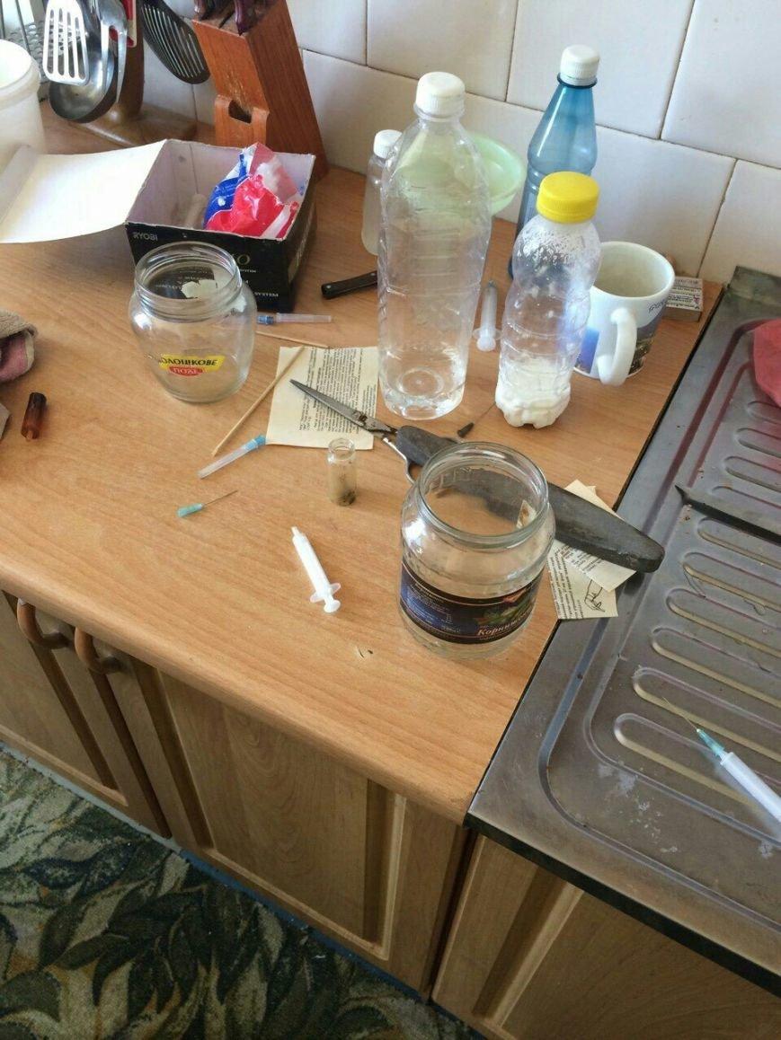 На левобережье Днепродзержинска прикрыли наркопритон (фото) - фото 4