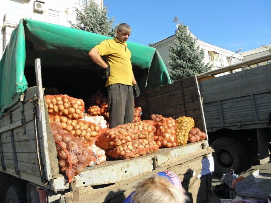 В Краматорске открылась сельскохозяйственная ярмарка «Краматорская осень» (фото) - фото 1