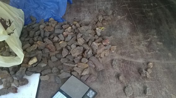 Міліціонерами було вилучено майже тисячу доларів США тапонад 12 кг бурштину (фото) - фото 1