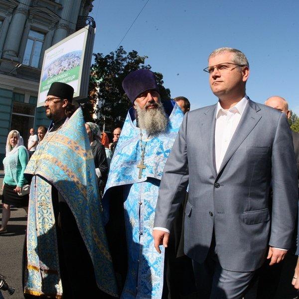 В День города в Днепропетровске прошел Крестный ход во имя мира и развития (ФОТО) (фото) - фото 4