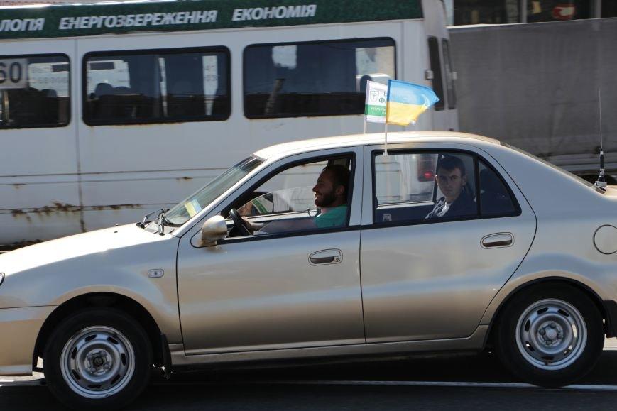Борис Филатов принял участия в автопробеге и поздравил жителей Днепропетровска с Днем города, фото-1