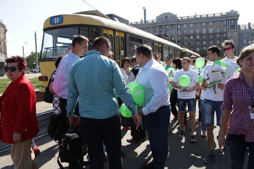 Борис Филатов принял участия в автопробеге и поздравил жителей Днепропетровска с Днем города, фото-2