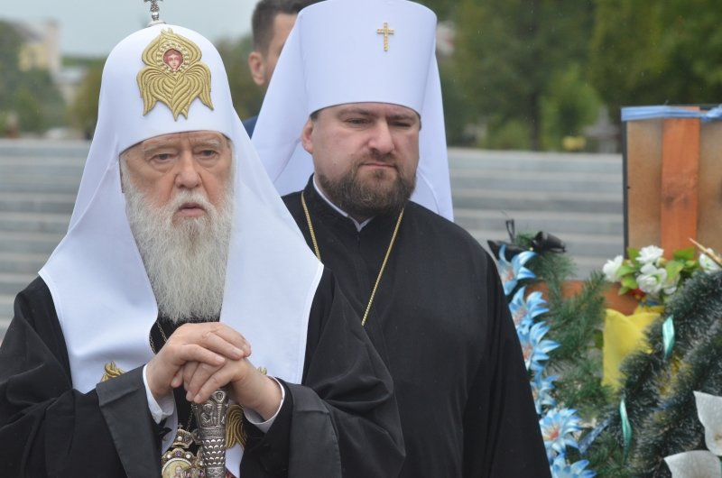 Патріарх Філарет помолився на Личаківському кладовищі за Новітніх Героїв України (фото) - фото 5