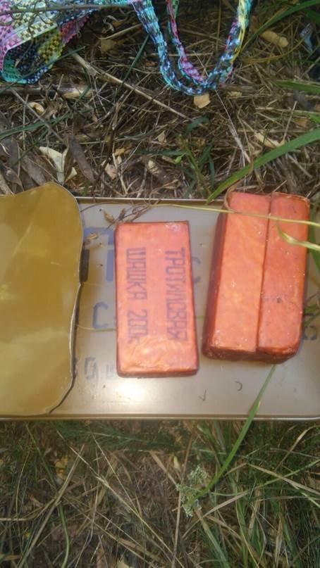 На Полтавщині СБУ виявила схованку з боєприпасами (фото) - фото 1