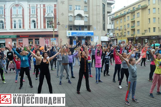 Як івано-франківці День спорту святкували (фото) - фото 1