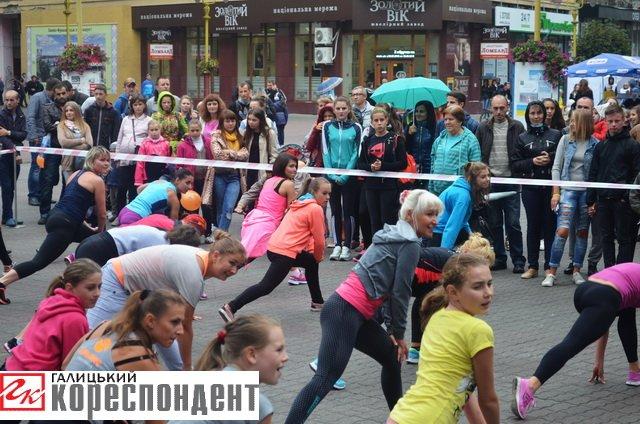 Як івано-франківці День спорту святкували (фото) - фото 3