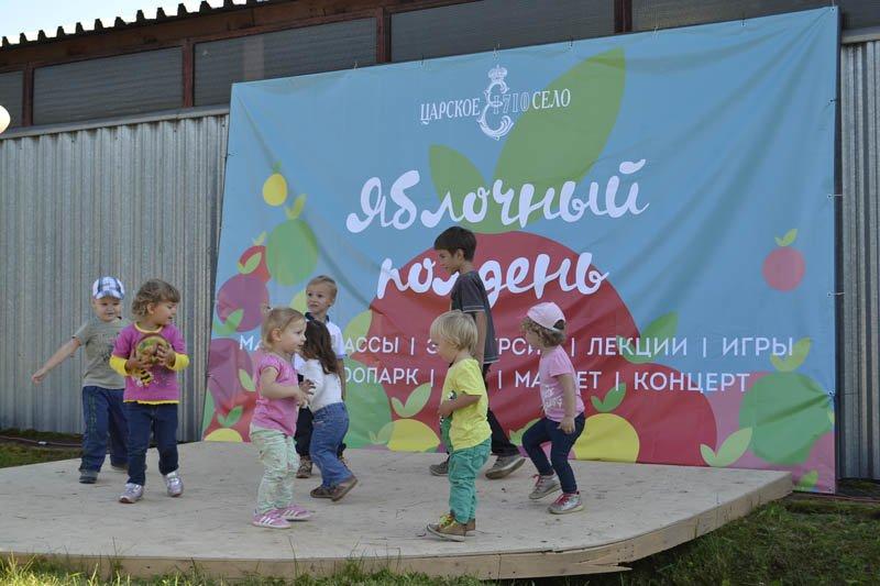 Осенний праздник в Александровском парке « Яблочный полдень» (фото) - фото 2