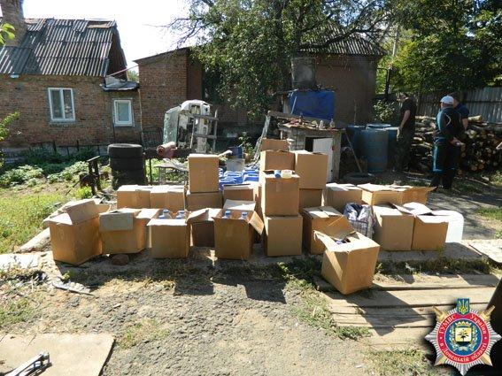 На Славянске сбывали суррогатный коньяк (фото) - фото 1