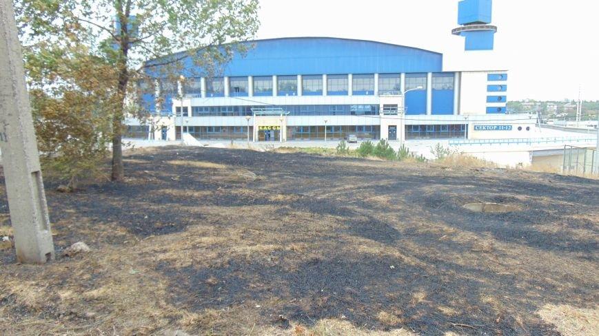В Мариуполе у  спорткомплекса «Ильичевец» выгорел участок Приморского парка (ФОТОФАКТ) (фото) - фото 2