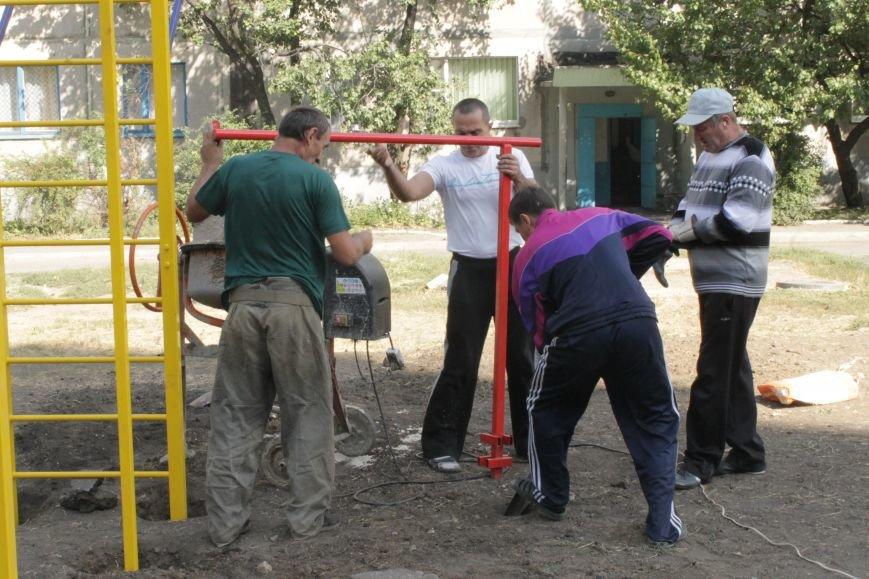 В Доброполье появилась новая площадка для воркаута (ФОТО), фото-9