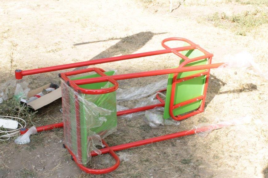 В Доброполье появилась новая площадка для воркаута (ФОТО), фото-1