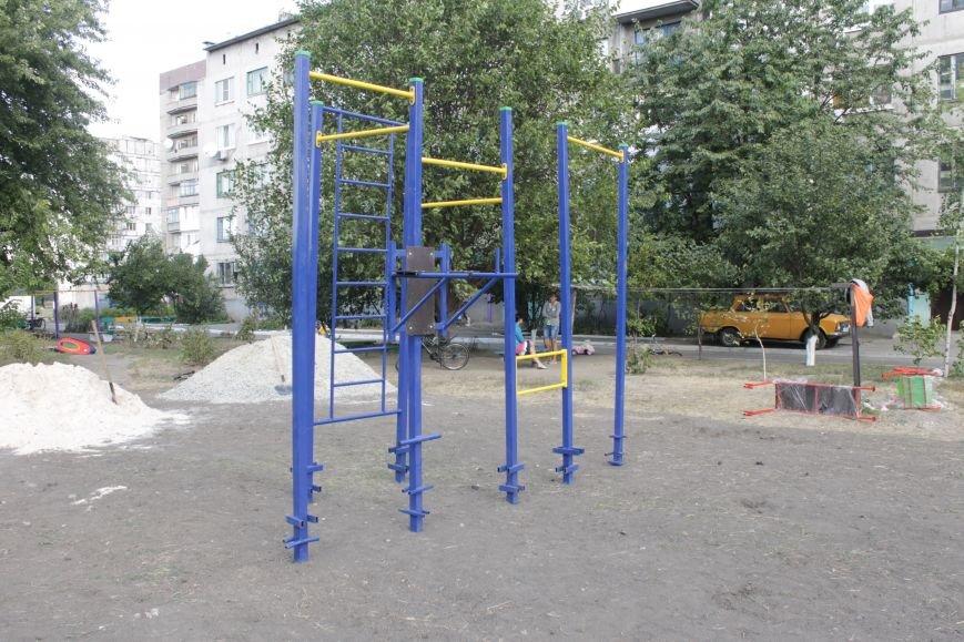 В Доброполье появилась новая площадка для воркаута (ФОТО), фото-10