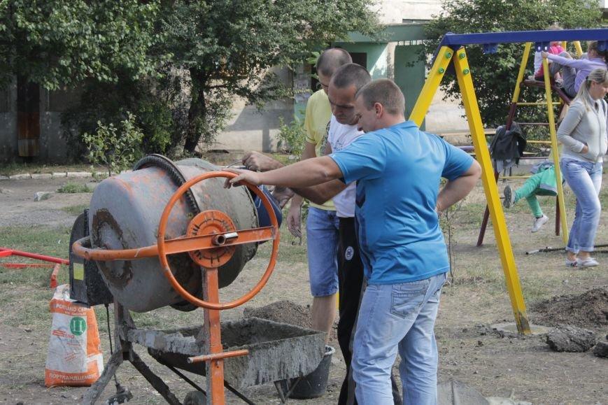В Доброполье появилась новая площадка для воркаута (ФОТО), фото-3