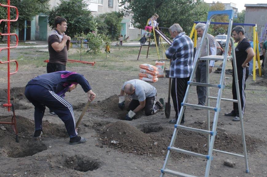 В Доброполье появилась новая площадка для воркаута (ФОТО), фото-6
