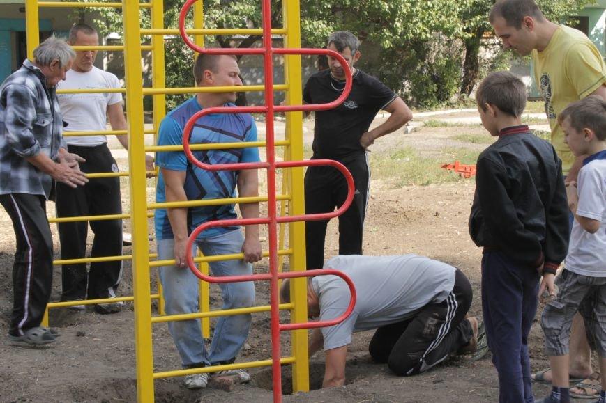 В Доброполье появилась новая площадка для воркаута (ФОТО), фото-8