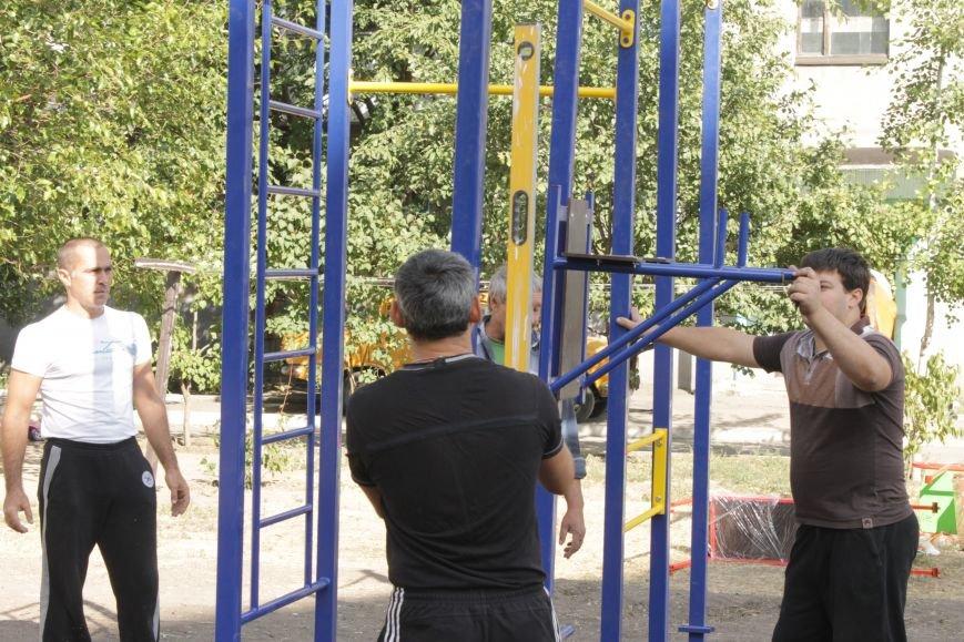 В Доброполье появилась новая площадка для воркаута (ФОТО), фото-12