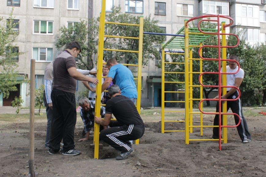 В Доброполье появилась новая площадка для воркаута (ФОТО), фото-7