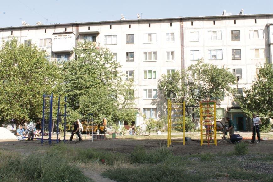 В Доброполье появилась новая площадка для воркаута (ФОТО), фото-14