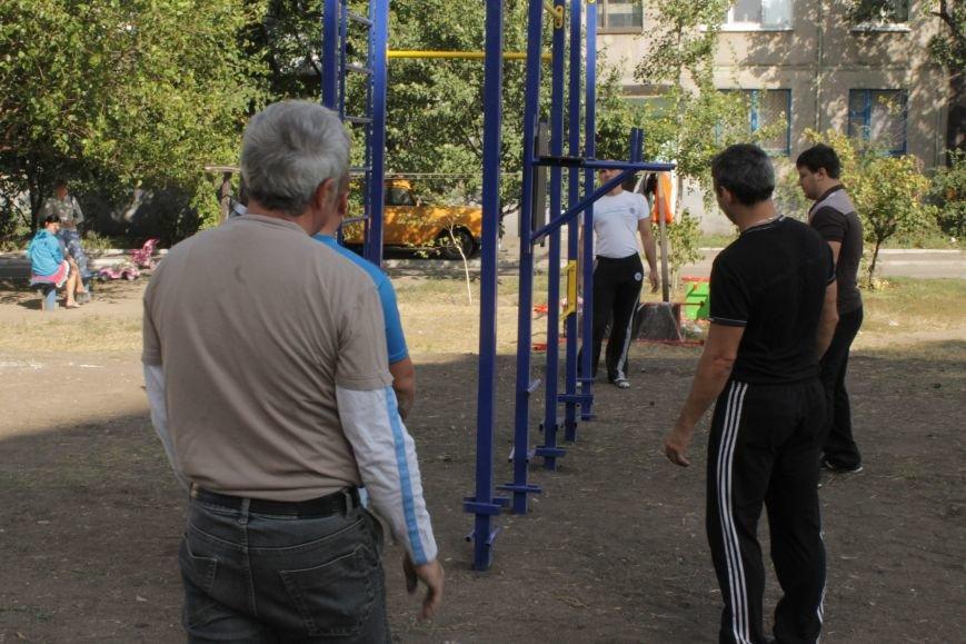 В Доброполье появилась новая площадка для воркаута (ФОТО), фото-11