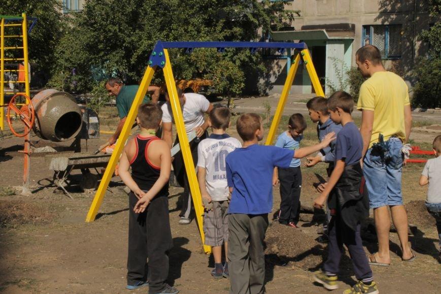 В Доброполье появилась новая площадка для воркаута (ФОТО), фото-2