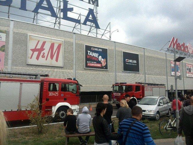 Из-за пожара в торговом центре в Белостоке эвакуировали 5 тыс покупателей (фото) - фото 1