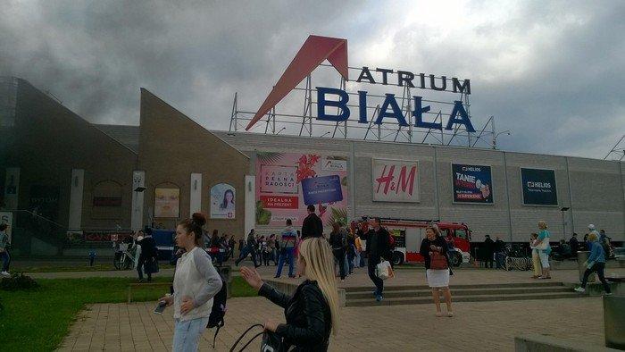 Из-за пожара в торговом центре в Белостоке эвакуировали 5 тыс покупателей (фото) - фото 6