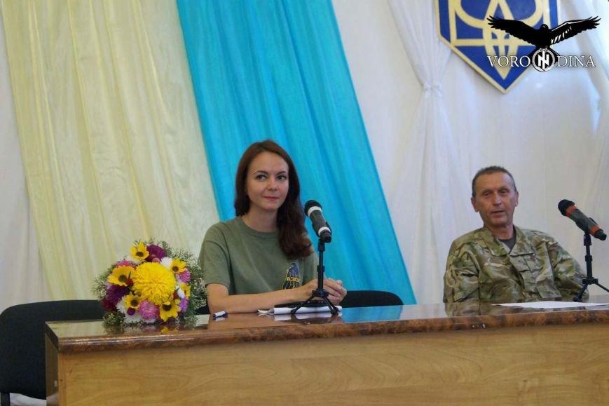 «Азов» в Мариуполе презентовал поэтический сборник (фото) - фото 1