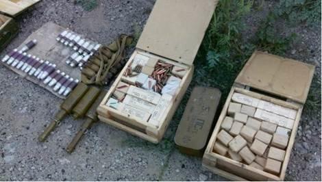 В Донецкой области нашли тайник с 11 гранатометами и наркотиками (ФОТО) (фото) - фото 2